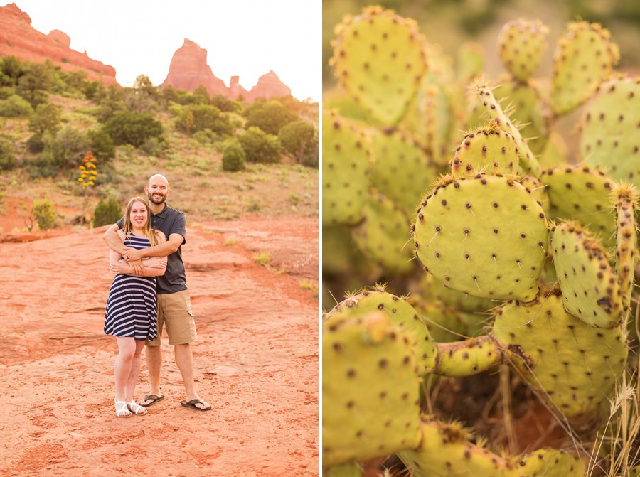 Sam and Tom - Engagement Photographers Sedona Arizona 2