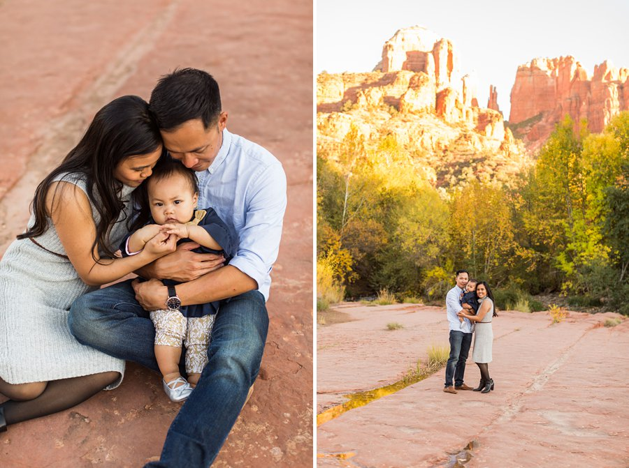 Sedona Arizona Family Portrait Photography