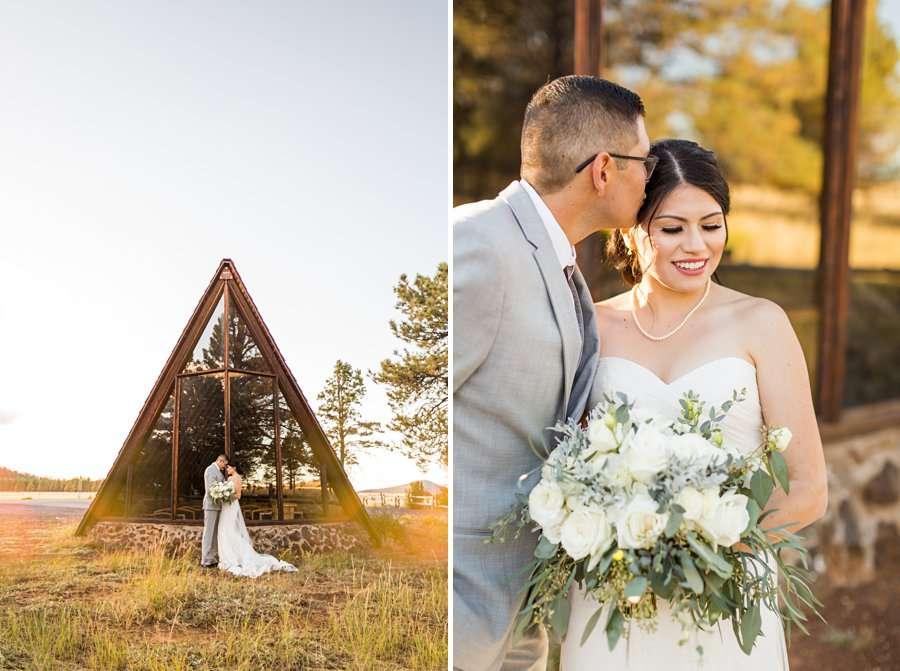 Stephanie and Mike - Flagstaff Wedding Photographer 7