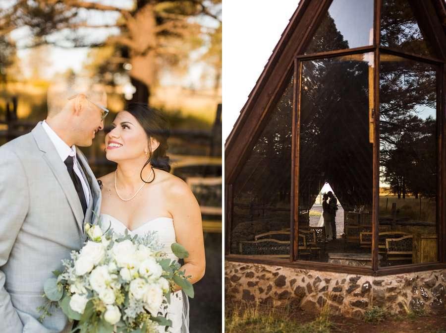 Stephanie and Mike - Flagstaff Wedding Photographer 12