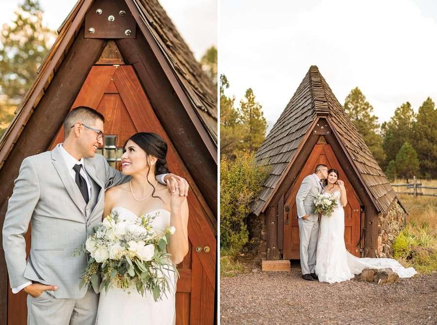 Stephanie and Mike - Flagstaff Wedding Photographer 13