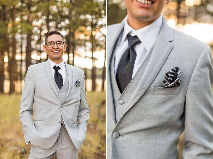 Stephanie and Mike - Flagstaff Wedding Photographer 16