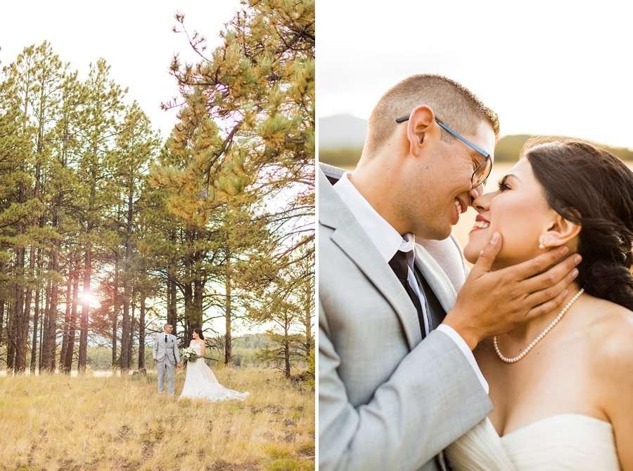Stephanie and Mike - Flagstaff Wedding Photographer 17