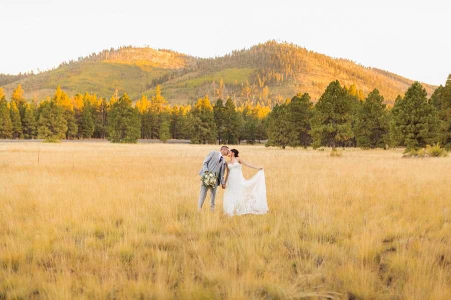 Stephanie and Mike - Flagstaff Wedding Photographer 23