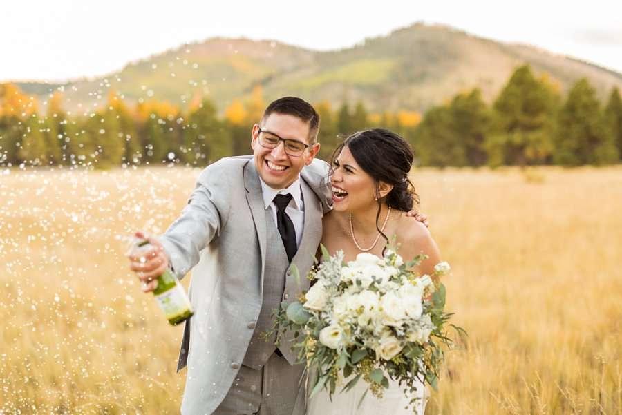 Stephanie and Mike - Flagstaff Wedding Photographer 24