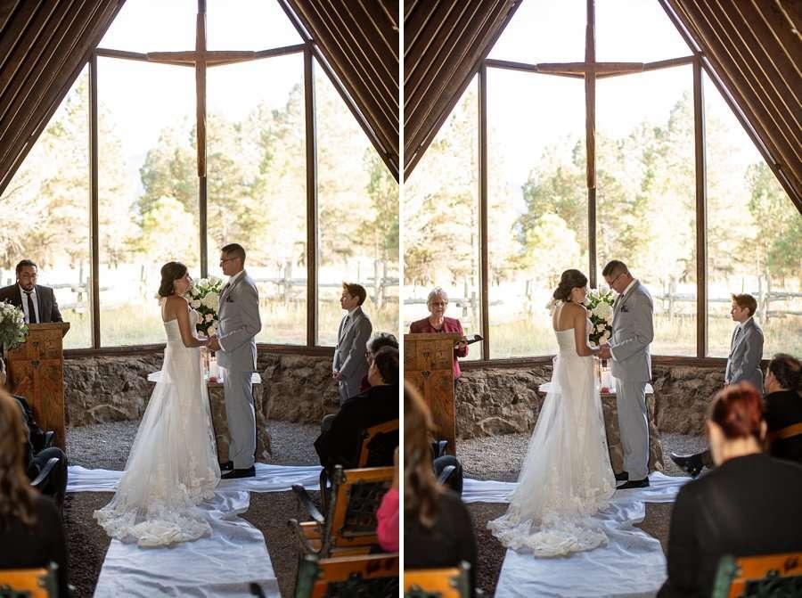 Stephanie and Mike - Flagstaff Wedding Photographer 1