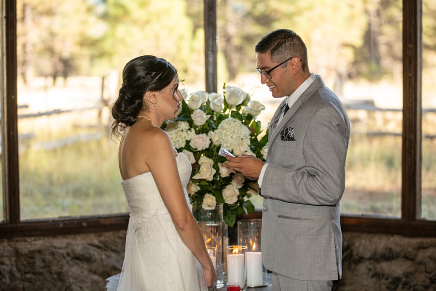 Stephanie and Mike - Flagstaff Wedding Photographer 3