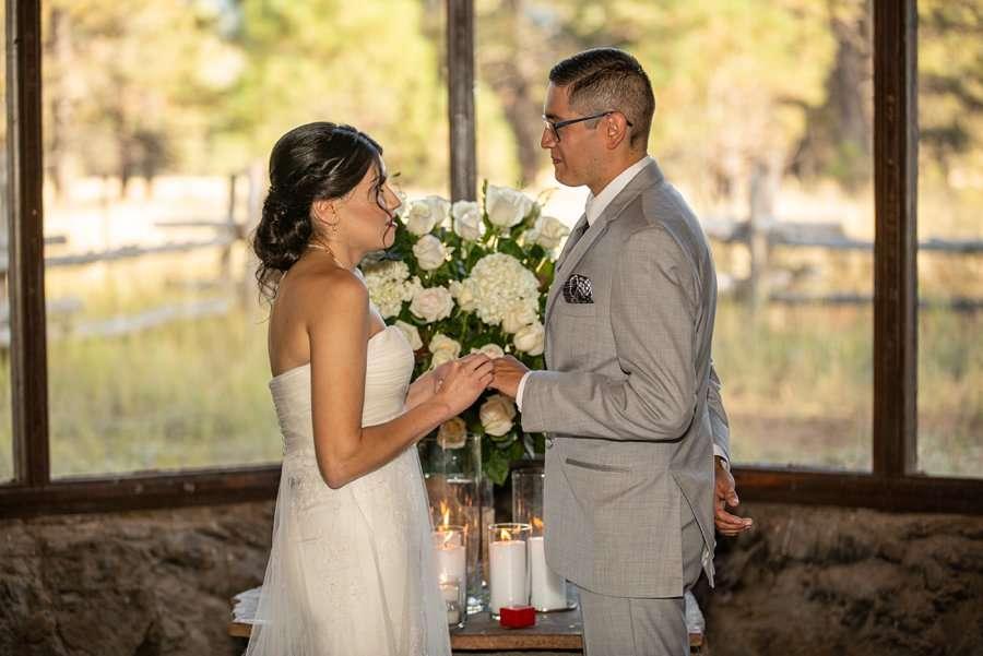 Stephanie and Mike - Flagstaff Wedding Photographer 4