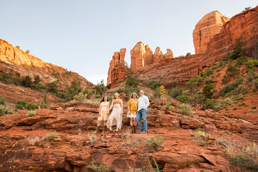 VanPoolen Family - Red Rock Portrait Photography 1