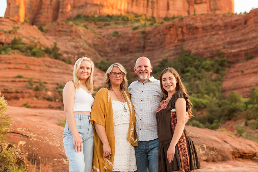 VanPoolen Family - Red Rock Portrait Photography 14