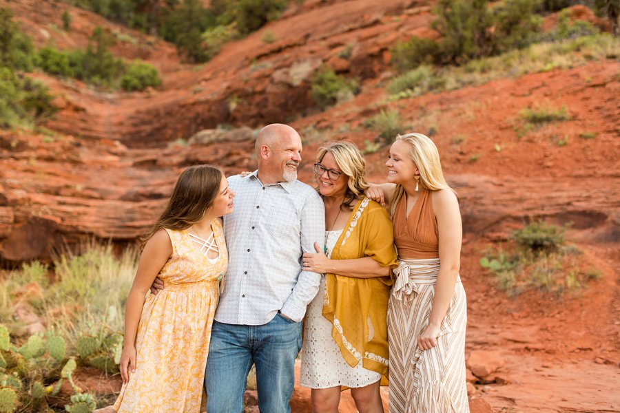 VanPoolen Family - Sedona Arizona Family Photographers 1 Spotlight Testimonials for Sedona Photographer