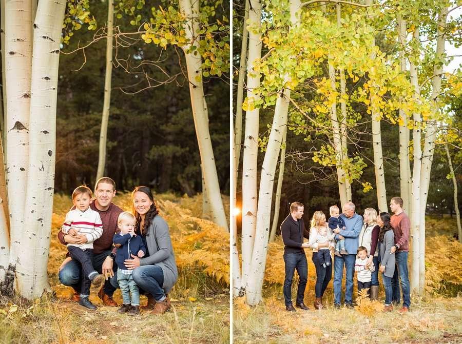 Wilson Family - Autumn Aspen Family Photographers Flagstaff 2