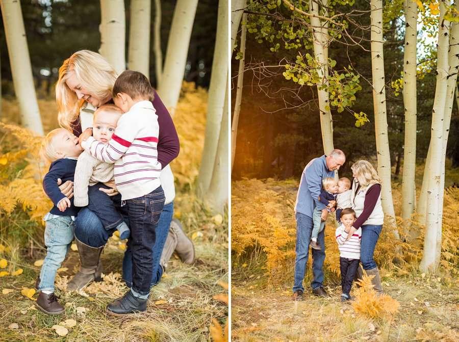 Wilson Family - Autumn Aspen Family Photographers Flagstaff 5