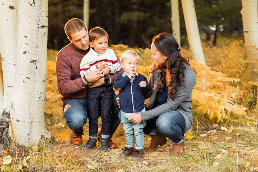 Wilson Family - Autumn Aspen Family Photographers Flagstaff 4