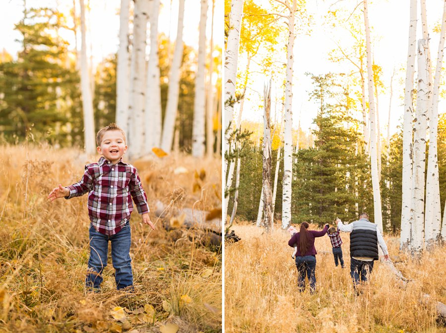 Williams Family: Autumn Family Photographers Flagstaff 06