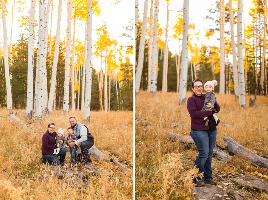 Williams Family: Autumn Family Photographers Flagstaff 01