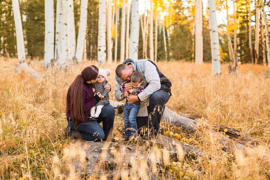 Williams Family: Autumn Family Photographers Flagstaff 02