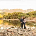 Kellie and Clyde: Salt River Arizona Engagement Photographer:Northern AZ Couples Photography