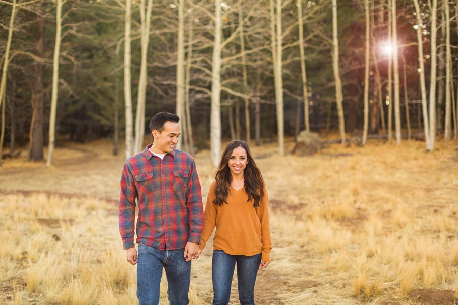 Lexi and Justin: Flagstaff AZ Engagement Photographers 01