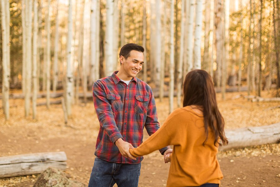 Lexi and Justin: Flagstaff AZ Engagement Photographers 06