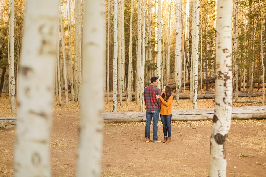 Lexi and Justin: Flagstaff AZ Engagement Photographers 05