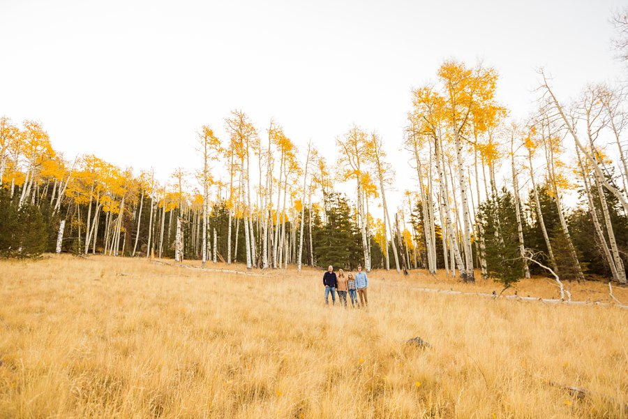 Lowe Family: Autumn Family Photographers Flagstaff AZ 5