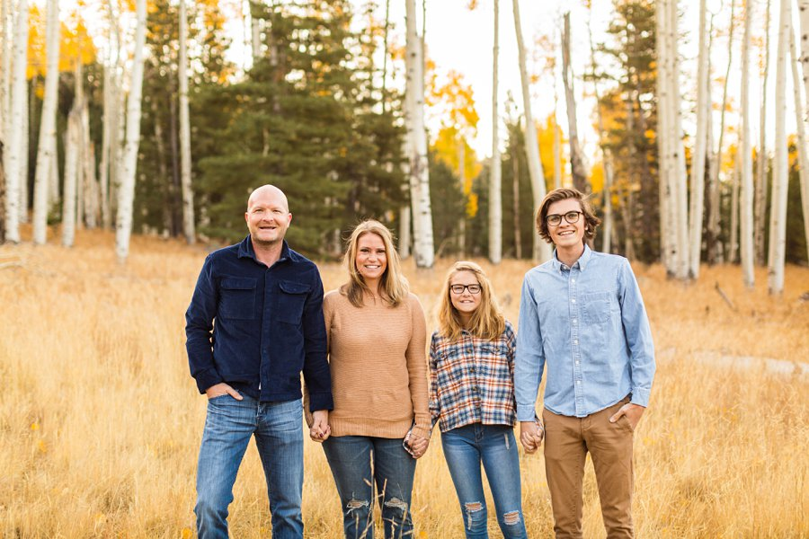 Lowe Family: Autumn Family Photographers Flagstaff AZ 3