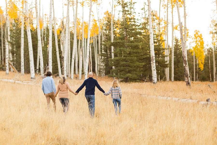 Lowe Family: Autumn Family Photographers Flagstaff AZ 04