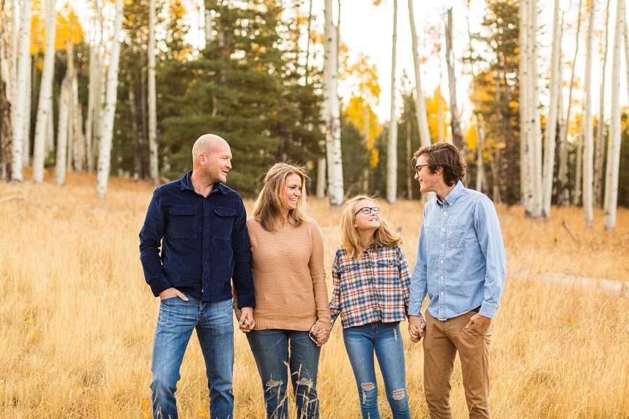Lowe Family: Autumn Family Photographers Flagstaff AZ 6