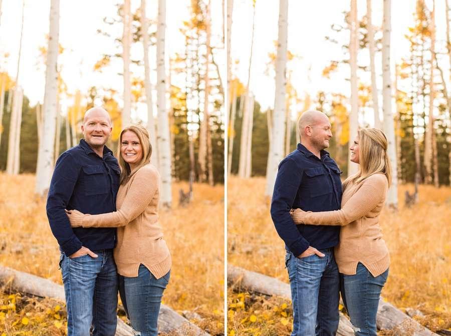 Lowe Family: Autumn Family Photographers Flagstaff AZ 1