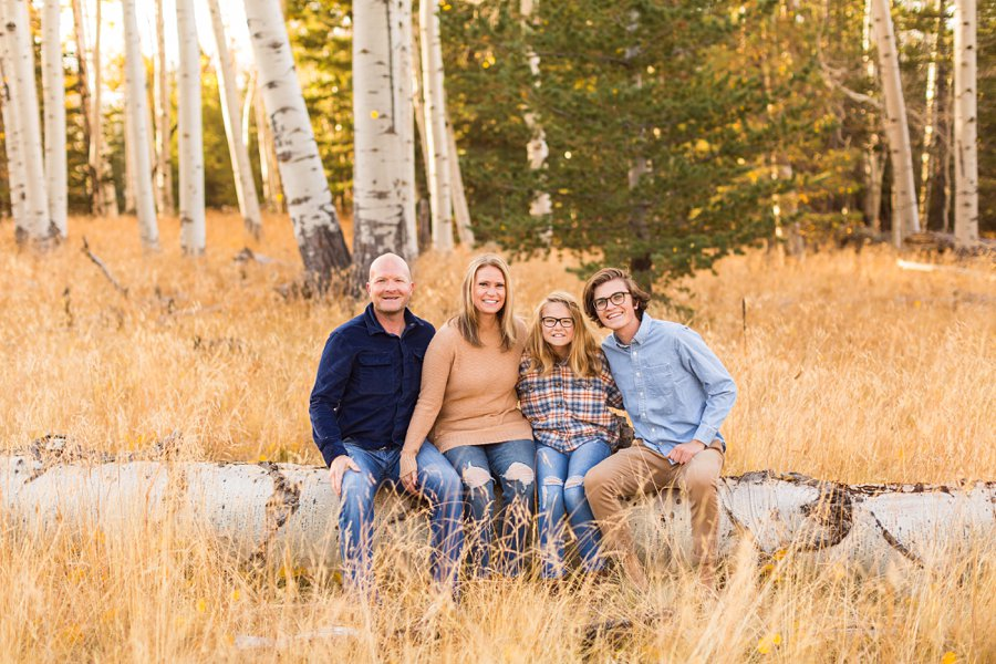 Lowe Family: Autumn Family Photographers Flagstaff AZ 0