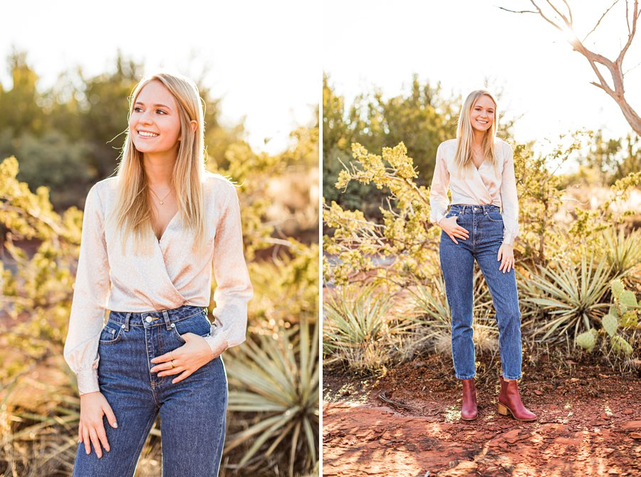 Sedona Arizona Senior Portrait Photography 01