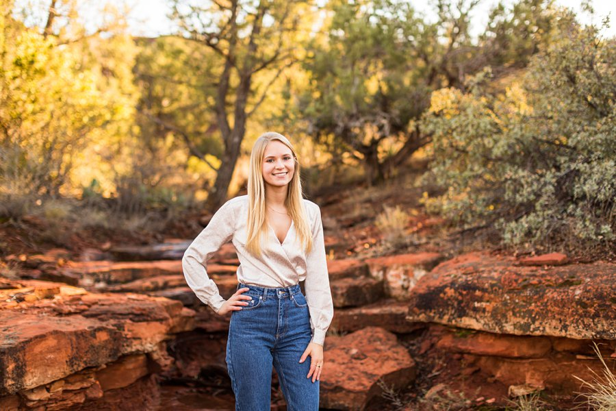 Sedona Arizona Senior Portrait Photography 04