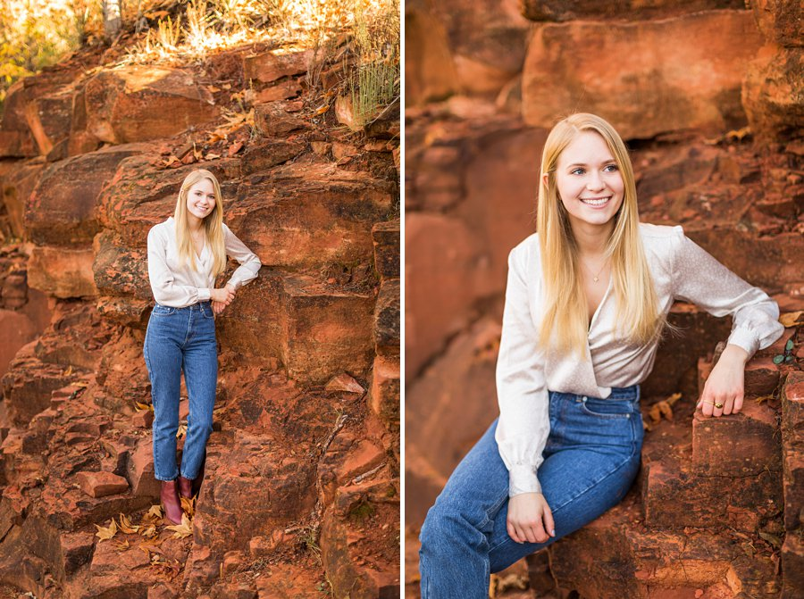 Sedona Arizona Senior Portrait Photography 05