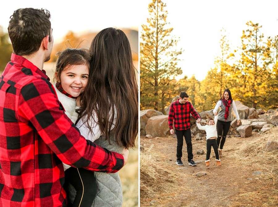 Gomes Family: Flagstaff Arizona Mini Session Photographers at Buffalo Park Sunset Sunset Photography