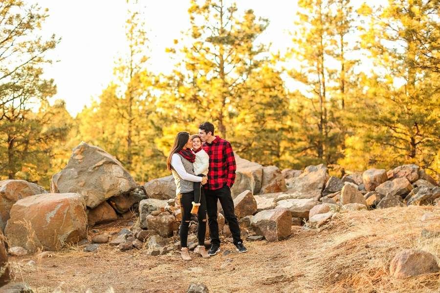 Gomes Family: Flagstaff Arizona Mini Session Photographers at Buffalo Park Sunset Family Session