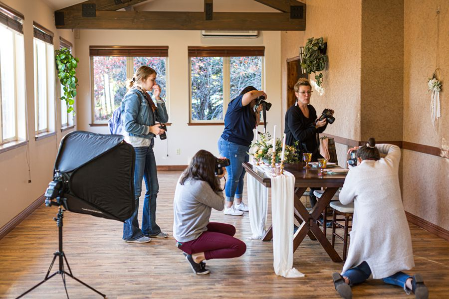 Northern Arizona Styled Shoot Wedding Workshop