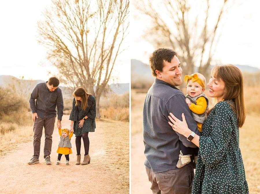 Puffer Family: Sedona Arizona Portrait Photography Mom and Dad