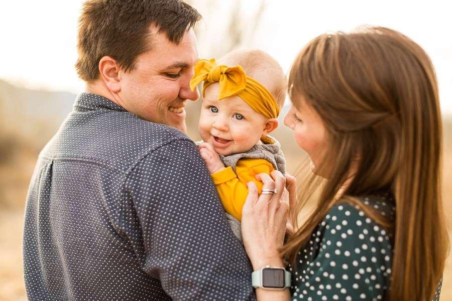 Puffer Family: Cottonwood AZ Family Photographer Holiday Card