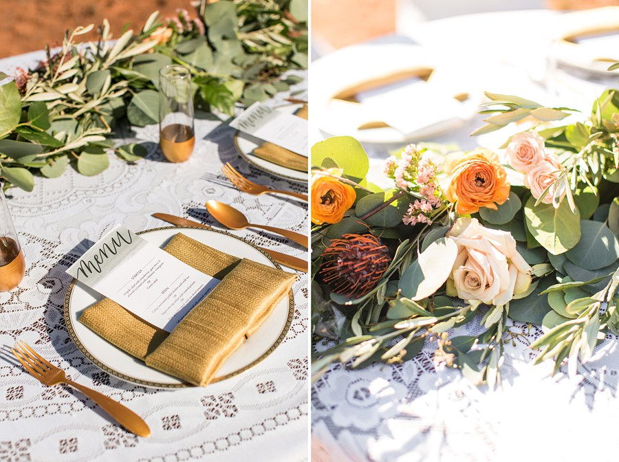Northern AZ Wedding Ideas: Red Rock Country: Red Rock Country: Red Rock Country Small Reception