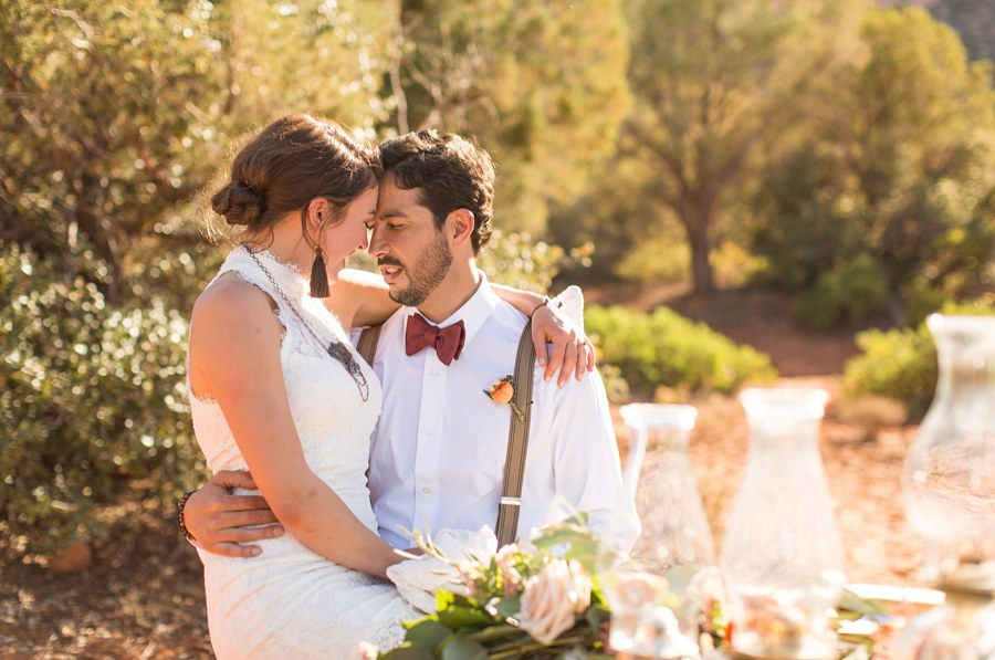 Red Rock Country: Northern AZ Wedding Ideas Bride Groom