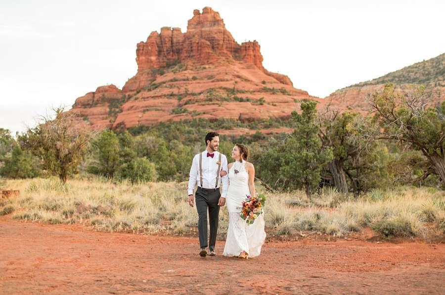 Red Rock Country: Sedona Arizona Elopement Inspiration Landscapes