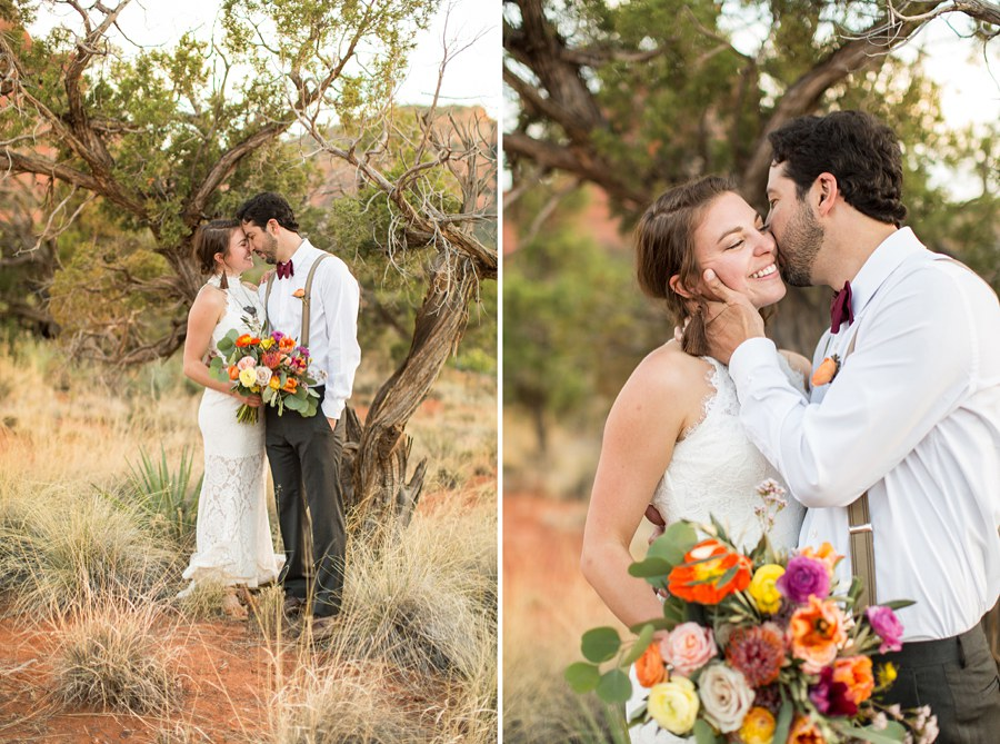 Red Rock Country: Northern AZ Wedding Ideas Trees