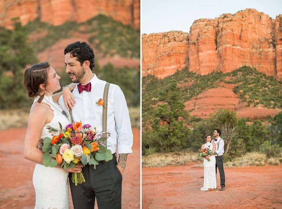 Red Rock Country: Northern AZ Wedding Ideas Landscape
