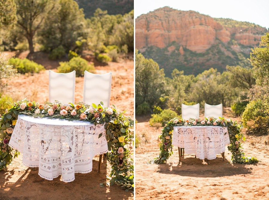 Red Rock Country: Northern AZ Wedding Ideas Outdoor