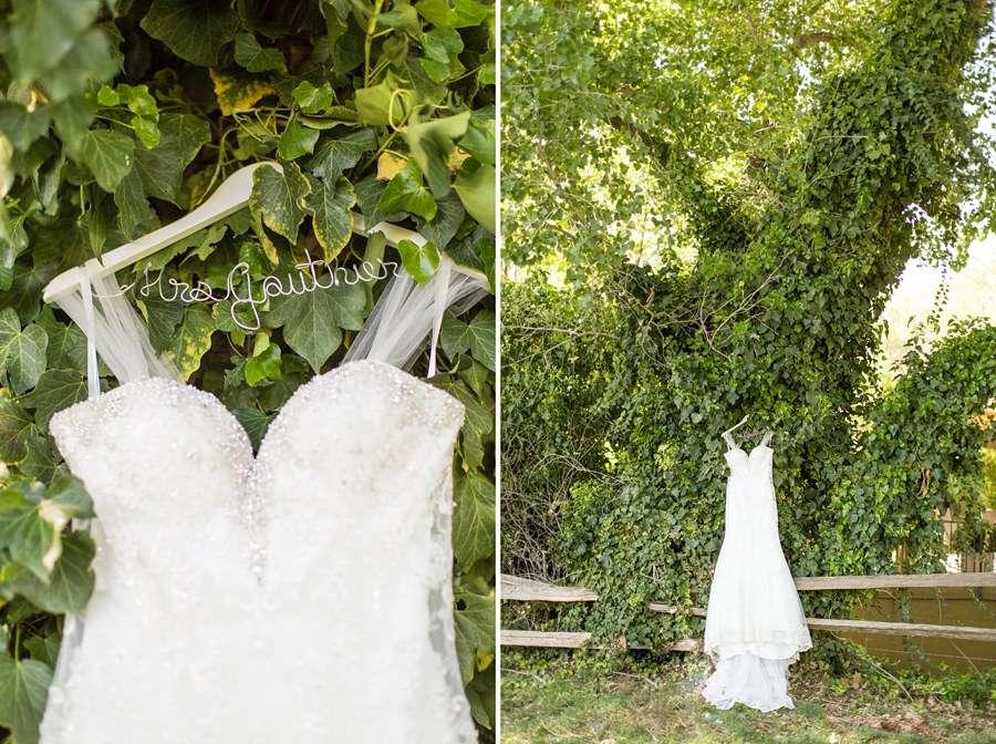 Poco Diablo: Sedona Arizona Outdoor Wedding Inspiration Wedding Dress