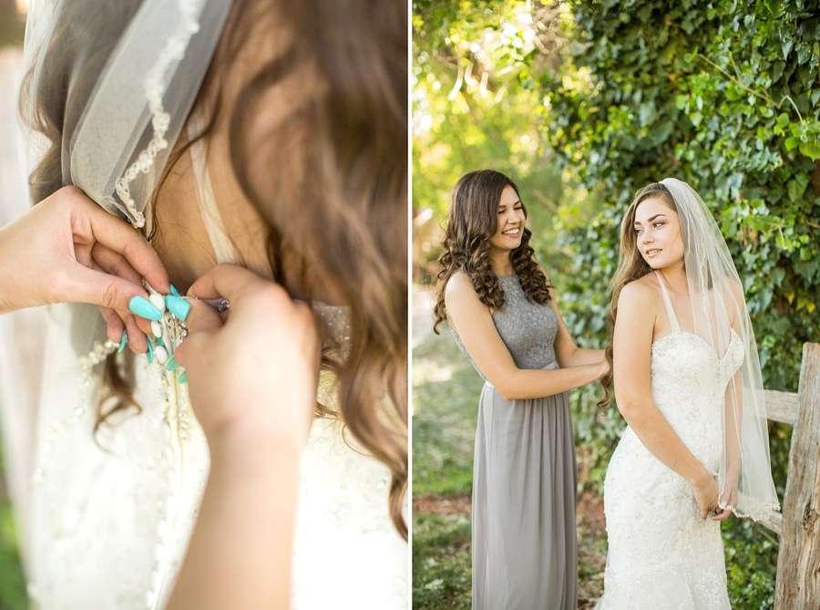 Poco Diablo: Sedona Arizona Outdoor Wedding Inspiration Bride Getting Ready