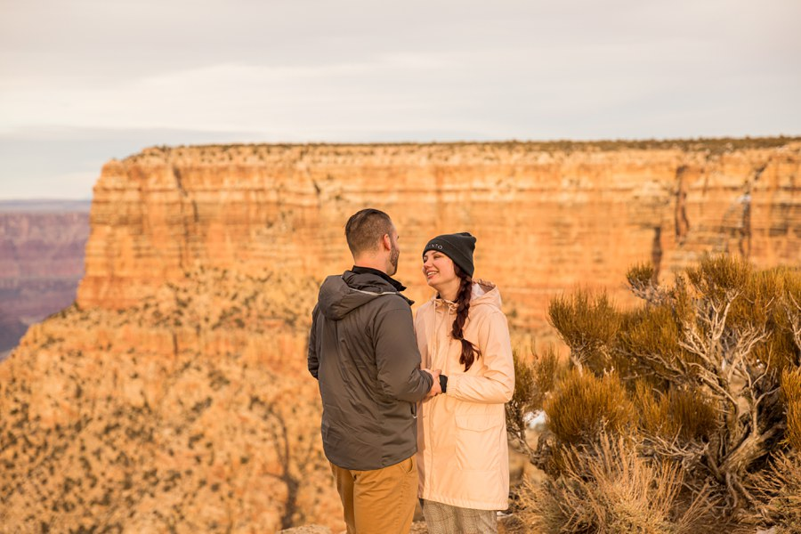 Grand Canyon Engagement and Proposal Photographer