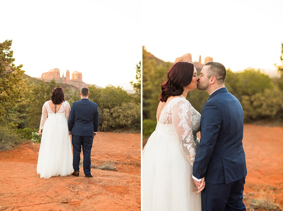 Northern AZ Elopement Photography Couples - Claire and Terrence