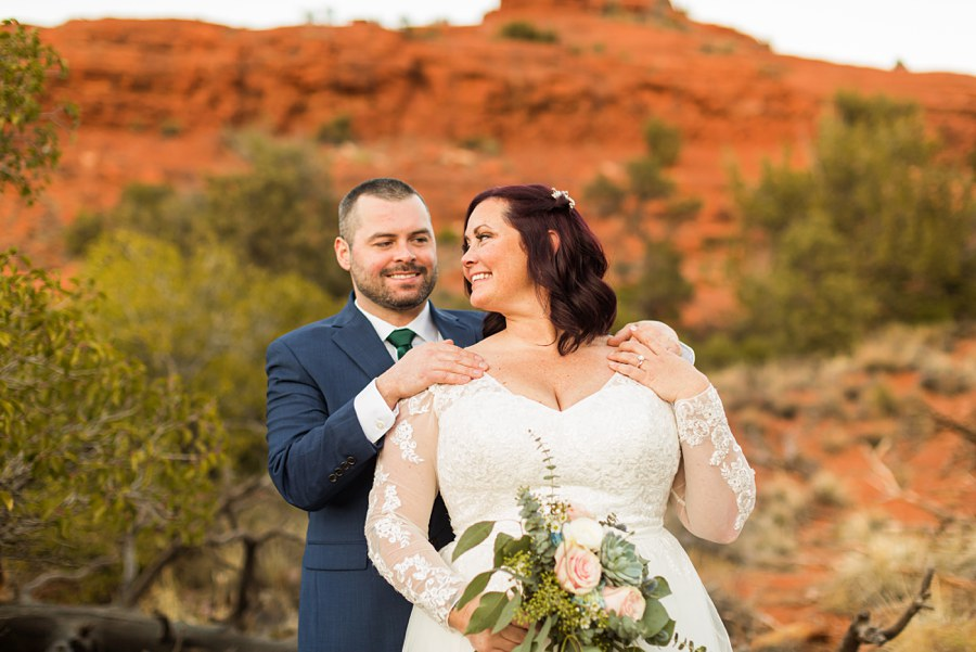 bouquet Northern AZ Wedding Photography - Claire and Terrence